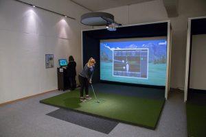 Indoor Golfsimulatoren im C&C WIenerberg